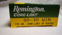 MUNICION REMINGTON 30-30 W Core Lokt 170Grs